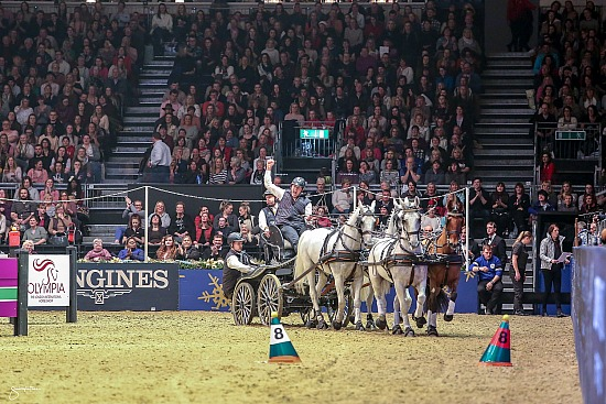 2017 The FEI World Cup Driving presented by Dodson & Horrell Final Winning Round 16 December 2017