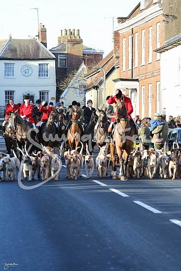 Boxing Day Meet at Wimslow, Buckinghamshire